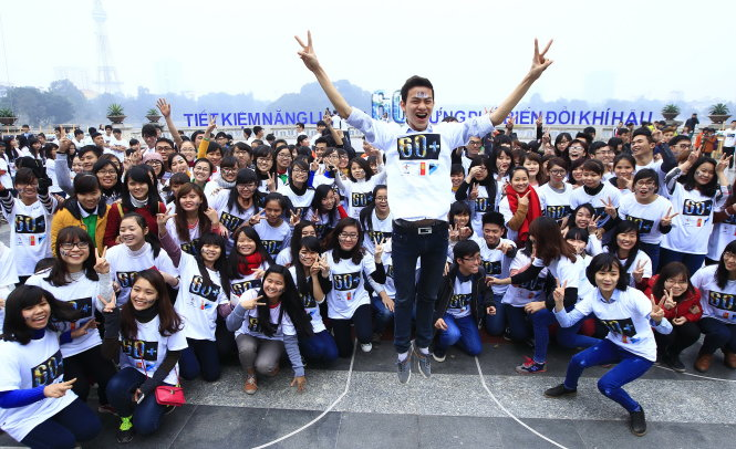 2015 Earth Hour drive launched in Hanoi