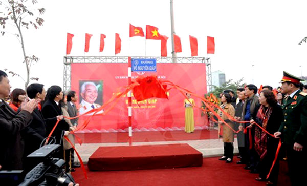 Hanoi names three major roads after influential figures in history