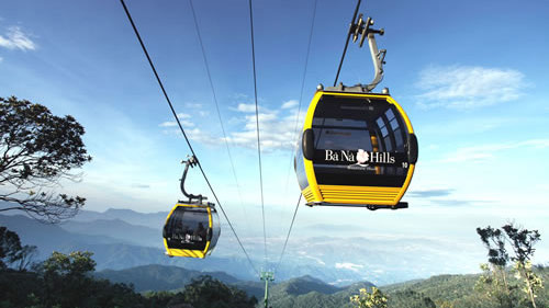 Ba Na Hills cable car: A world's most amazing thrill