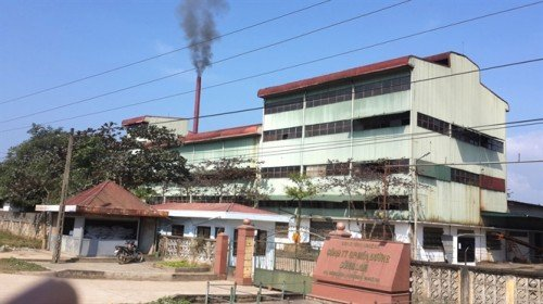 Sugar refinery's waste-water discharge pollutes Lam River