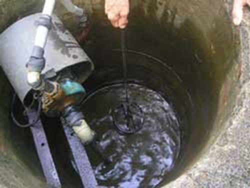 Underground water in rural areas becoming polluted