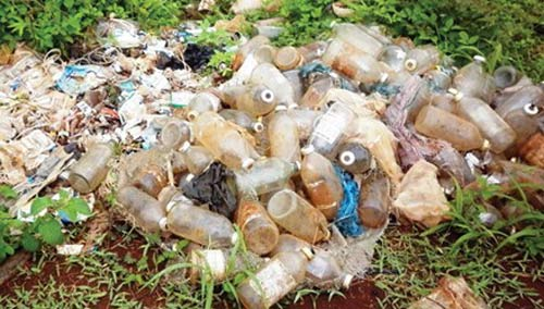 High concentration of dioxin found at waste treatment plants