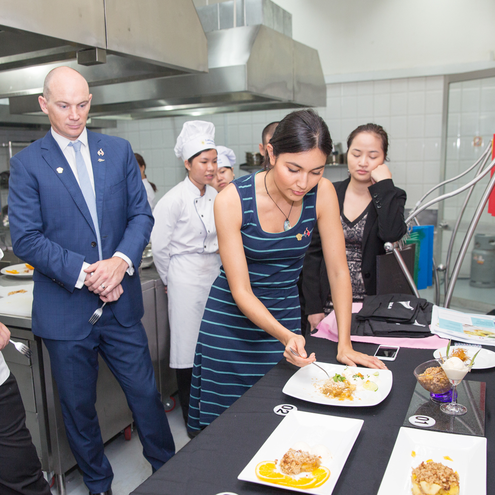 New Zealand Celebrity Chef visits to Vietnam 4-8 May