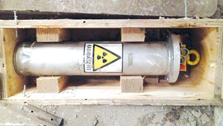 Net cast wider for missing radioactive material
