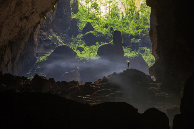 The beauty of Son Doong cave shown on international media sites