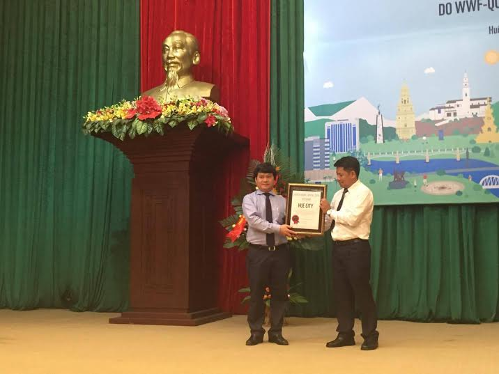 Hue is first city in Vietnam recognized for its commitment to low-carbon development