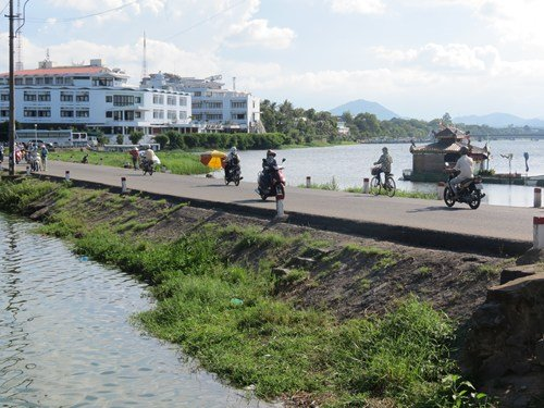 Historic dam renovated in Hue City