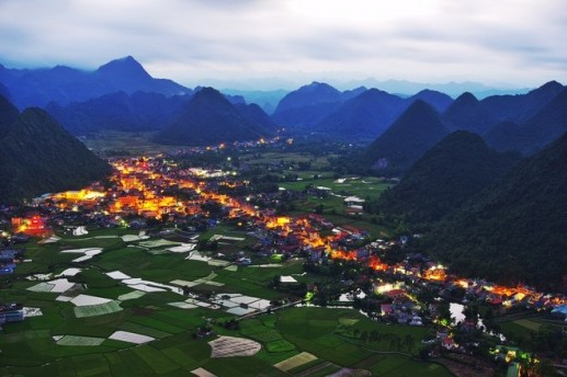 Wonderful scenes in Bac Son Valley