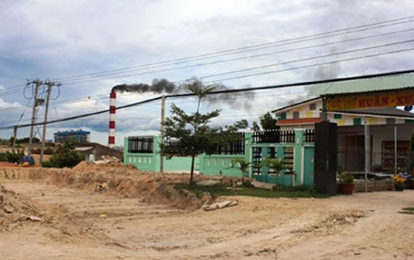 Binh Thuan tries to tackle power plant pollution