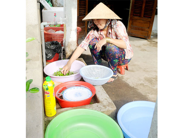HCMC strives to provide fresh water to all households by yearend