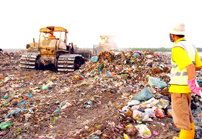 Key economic regions suffer from industrial solid waste