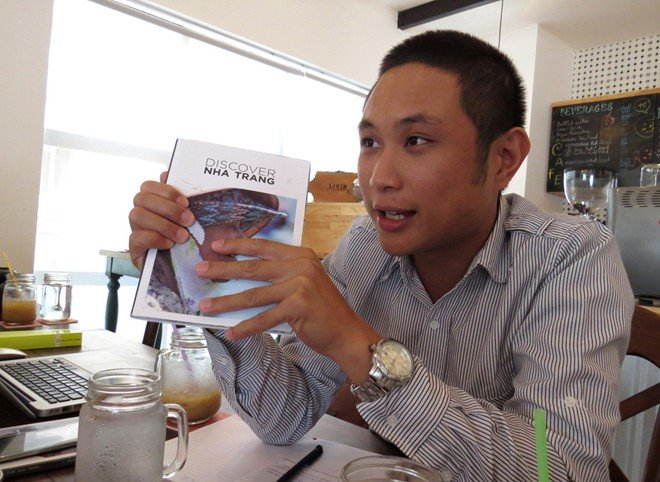 Allister Esguerra, 26, the chief editor.