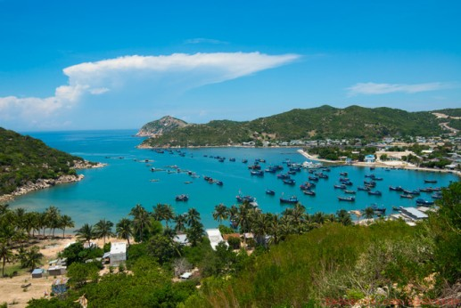 Beautiful unspoiled beaches in Ninh Thuan