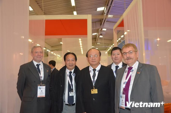 Vietnam attends the World Nuclear Exhibition