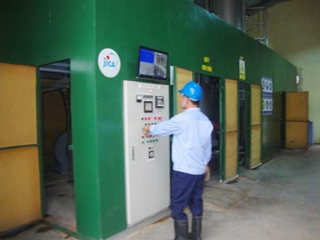 Medical waste incinerator completes trial phase