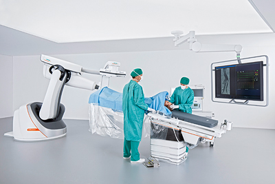 Siemens Healthineers introduces innovative robot-supported Artis pheno angiography system