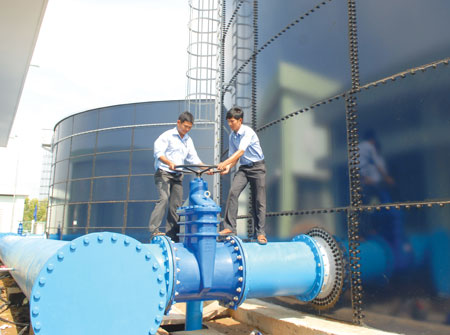 Japan supports Dong Nai to build water – supply system