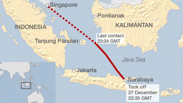 Indonesia plane, AirAsia Indonesia flight, disappeared