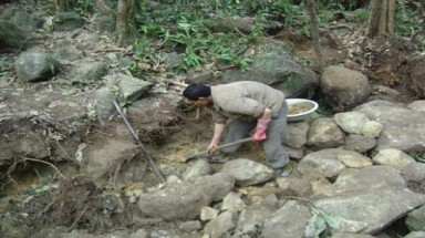 Dak Lak's forests ravaged by precious stone hunters