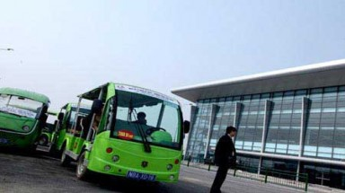 MoT approves electric cars at Noi Bai Airport