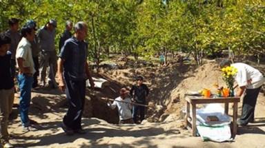Mass grave found in central Vietnam