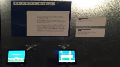 Flappy Bird introduced at Victoria & Albert Museum