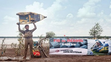 Mekong conqueror plans river clean-up