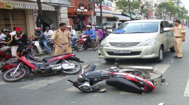 4,300 traffic accidents recorded in HCM City last year