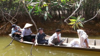 Climate change project launched in Long An