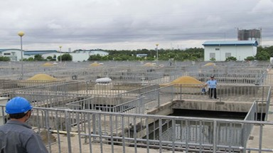 HCM City expands wastewater treatment plant