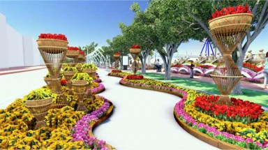 Danang to build S-shape flower street