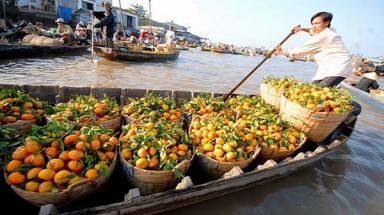 Top 5 attractive floating markets in Vietnam