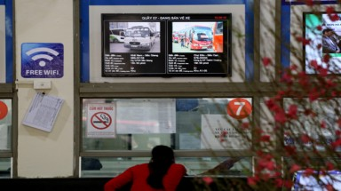 Hanoi's bus stations offer free wifi service