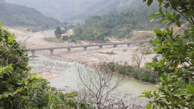 Rivers dried up, lakes depleted 'cause hydropower plant stores water