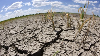 Serious drought in Central and Southern regions