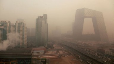 Nine Chinese cities suffered more days of severe smog than Beijing