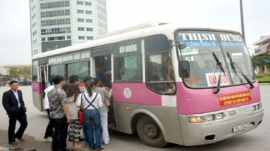 Hai Phong turns green with electric-bus project