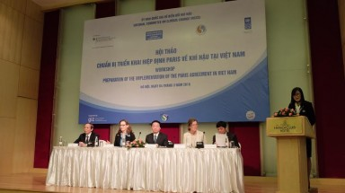The preparation of the implementation of the Paris Agreement in Viet Nam