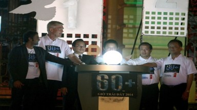 Viet Nam Earth Hour reduces power usage by 431,000 kWh