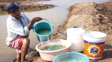 Central region hit by drought