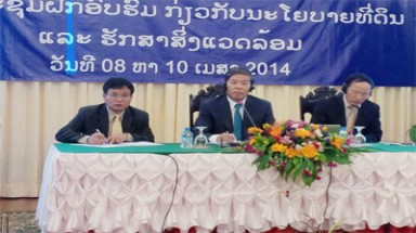 Vietnam shares environmental protection with Laos