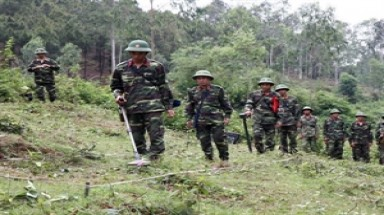 Nghe An boots UXO clearance efforts