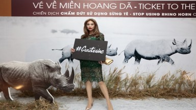 Star-studded campaign fights to end rhino horn use