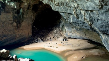 Hang En a world's third largest cave: Daily Mail