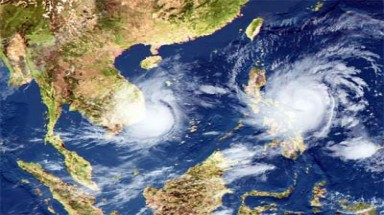 Two storms forecast to hit East Sea in May