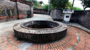 Ancient wells in Hanoi's old villages