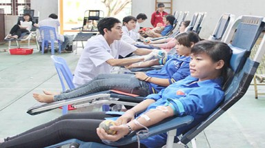 Over 2,800 blood units collected so far