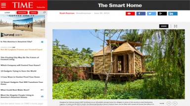Vietnamese bamboo house introduced in Time magazine
