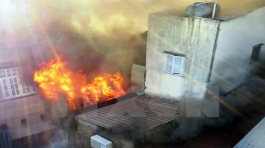 House in Vietnam catches fire 38 times