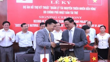 Japan helps Vietnam manage sustainable natural resources